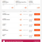 Jetstar O/W Sale - MEL to Byron Bay from $79, to Christchurch from $135, SYD to Honolulu from $229, Cairns from $99 - Today Only