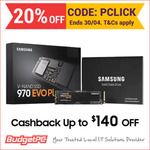 Samsung 970 EVO Plus 500GB $157 Delivered (Bonus $22 Samsung Cashback) @ BudgetPC eBay