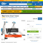Tacx Vortex Smart Trainer $331.99 Delivered (RRP $550) @ Chain Reaction Cycles