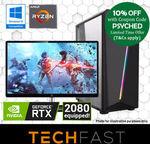 """Ryzen 5 / RTX 2080 + 27"""" AOC Monitor & KBM: $1457.10 Delivered @ TechFast eBay"""