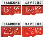 Samsung Evo Plus Micro SD Card - 256GB $59.96 @ Apus eBay | 512GB $140 Delivered @ Tech Mall eBay
