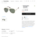 Cancer Council Sunglasses Rutherglen $31.45 (Was $49.95) @ FramesBuy