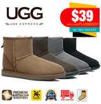 [eBay Plus] 10% off UGGs Storewide, Unisex Mini Classic Ugg Boot $39 (Was $136) Delivered @ UGG Express Australia eBay