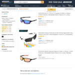 HODGSON Unisex Polarised Sport Sunglasses $9.95 + Delivery (Free with Prime/ $49 Spend) @  HODGSON SPORTS AU Amazon