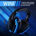 Win a Logitech G935 Wireless 7.1 Surround Lightsync Gaming Headset Worth $309 from PC Case Gear