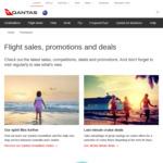 Earn Double Qantas Points on Eligible Flights @ Qantas