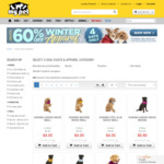 Up to 60% off Dog Coats + Free Delivery over $49.99 @ My Pet Warehouse