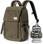 Zecti Camera Backpack $104.99 (Was $139.99) Delivered @ Ankway Amazon AU