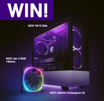 Win an NZXT Prize Pack from PC Case Gear