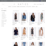 Get Any Full-Priced Clothing for $25 (Save up to $65) + Free Delivery @ Katies