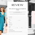 Win a Dress Every Month for a Year (12x $300 Review Australia Gift Vouchers) from Review