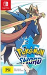 [Pre Order, Switch] Pokemon Sword or Shield $61.20 + Delivery @ Harvey Norman Online