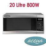 OzBargain Exclusive - Acqua 20Litre Microwave Oven - $49 (after $20 Cash Back) + $17.95 P&H