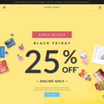 25% off Sitewide* @ Short Story - Black Friday Sale (Free Shipping with $75+ Spend)