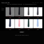 Up to 55% off: 100% Silk Ties - Free Shipping, Monogramming & Gift Wrapping (Was $69.95, Now $31.50)