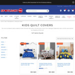 Kid's Quilt Covers from $10 + Delivery @ Spotlight