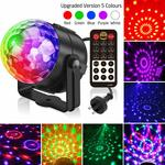 Party Light, Sound Activated 5 Colour 18 Modes with Remote Control for $17 + Delivery ($0 with Prime or $39 Spend) @ Amazon AU