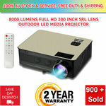 8000 Lumens HD SLR Len LED Projector $229.88 Delivered @ Aclinker eBay