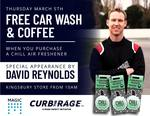 [VIC] Free Carwash + Coffee with Purchase of Chill Air Freshener $3.95 @ Magic Hand Car Wash (Kingsbury)