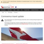 Free Flight Cancellation on Jetstar (6 Months to Book/12 Months to Travel) & Qantas (Voucher) until December 31 2021