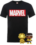 The Marvel Pop! & T-Shirt Bundle $29.99 + $7.49 Delivery @ Zavvi AU