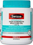 Swisse Ultiboost High Strength Fish Oil 1500mg/400 Capsules $17.50 or $15.75 S&S + Delivery ($0 Prime/ $39 Spend) @ Amazon AU