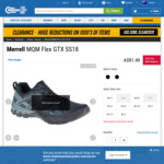 Merrell MQM Flex GTX Shoes $81.40 Plus Delivery @ Chain Reaction Cycles