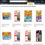 Up to 50% off BIC Pens & Colouring + Delivery ($0 with Prime / $39 Spend) @ Amazon Australia (e.g. BIC Atlantis 4pk $2.60)