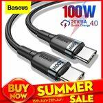 Baseus 0.5m PD 60W Type-C to Type-C Cable US $1.44 (~AU $2.13) @ BASEUS Officialflagship Store via AliExpress