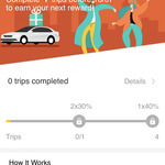 DiDi Ride and Save - up to 3x trips at 40% off capped at $8