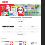$10 off $40 Shop (Specific Brands Only) @ Coles Online
