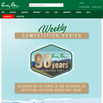 Win 1 of 16 Prizes from Paddy Pallin's 90th Anniversary Giveaway