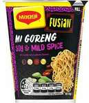 ½ Price Maggi Fusian Instant Cup Noodle Mi Goreng/Japanese Teriyaki $0.90 @ Woolworths