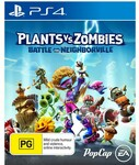 [PS4] Plants Vs. Zombies: Battle for Neighborville $20 (Free C&C) @ Big W & Amazon AU + Delivery (Free for Prime Members)