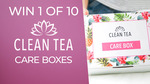 Win 1 of 10 Clean Tea Care Boxes Worth $29.90 from Seven Network