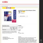 ½ Price Red Bull Varieties 250ml 4pk $5.42 (Was $10.85) @ Coles