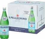 San Pellegrino Sparkling Mineral Water, Box of 12x1L PET, $19.44 ($17.50 S&S) + Delivery ($0 with Prime/ $39 Spend) @ Amazon AU