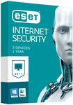 ESET Internet Security - 3 Devices, 12 Months Subscription $4.90 + Delivery ($0 with Prime/ $39 Spend) @ HT Amazon AU