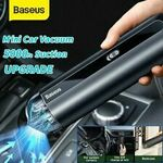Baseus 5000pa Car Vacuum Cleaner $50.39, 15W Qi Wireless Charger $23.39 Delivered @ baseus_officialstore_au eBay