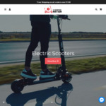 5% off Store Wide + Free Shipping @ E-Scooter Nation
