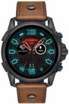 [Prime] Diesel on Men's Full Guard 2.5 HR Heart Rate Silicone Touchscreen Smart Watch Brown Leather Strap, DZT2009 $149 @ Amazon