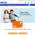 "[Everyday Rewards] Bonus 2000pts (Worth $10) with $100 ""Swap Celebration"" Gift Card (Can Swap for $100 eBay GC) @ BIG W In-store"