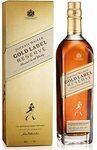 [Prime] Johnnie Walker Gold Label Reserve Whisky 1L $86 Delivered @ Amazon AU