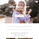 Win a $500 Gift Card or 1 of 5 $50 Gift Cards from Salt & Soda