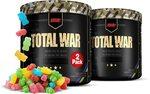 2x Redcon1 Total War Pre Workout Powder (Sour Gummy Bear) $79.50 + Delivery ($0 with Prime) @ Amazon US via AU