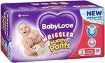 BabyLove Premium Nappy Pants, Size 3, 76 Nappies (2x38 Pack) - $17 ($14.45 S&S) + Delivery ($0 Prime) @ Amazon AU