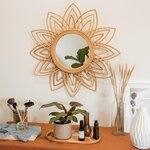 Rattan Mirror Decor $148 Delivered (10% off) @ Cosset Space
