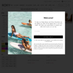 Extra 25% off Sale Items (e.g. Women's Bikini Separates $18.75) + $9.99 Delivery ($0 with $50 Order) @ Roxy