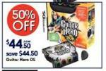 50% off Guitar Hero Nintendo DS @ Kmart.