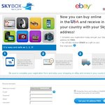 USD $20 OFF International Shipping on eBay! with Skybox